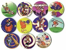 POGS - T-POGMAN-LE 11 003 Lot de 11 Pogs POGMAN Limited Edition WPF (No double)