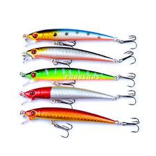 Mini 5pcs Lot 5 colors Fishing Lures 6g 9cm Minnow Hard fishing bait Crankbaits