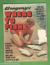 #BB5. GREGORY'S WHERE TO FISH MAGAZINE
