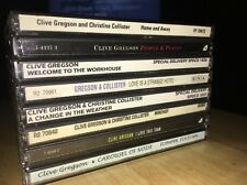 CLIVE GREGSON & COLLISTER •Lot 8 Titles Personal Collection 1000 Great Guitarist