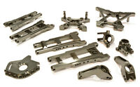 INTEGY RC T8580GREY Suspension Set for 1/10 Stampede 4X4 & Slash 4X4(High-CG)