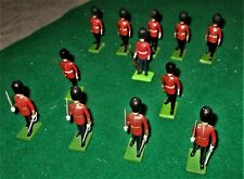 12 x Britains lead Toy Soldiers Guards 1980s no box