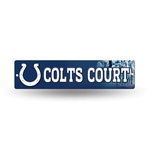"""Indianapolis Colts Football 16"""" Street Sign Fan Wall Decor"""