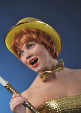 Rocky Horror Columbia Style Gold Top Hat