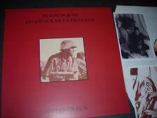 Death in June/Les Joyaux de la Princesse Ostenbraun Ltd Black vinyl with Inserts