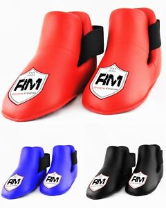 RingMaster Semi Full Contact Boots Foot Taekwondo Kickboxing Martial Arts K1