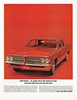Vintage 1964 Magazine Ad Pontiac Habit Breaker For Those Who Buy The Same