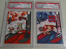 2004 Press Pass Big Numbers Complete set w/ Collectable Tin Eli Manning PSA 9