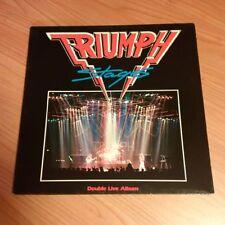 DLP TRIUMPH STAGES MCA 252 519-1  VG/M MAI SUONATO  GERMANY PS 1985 MCZ