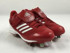 NEW adidas Abbott Pro - Red Cleats (Women's Multiple Sizes)