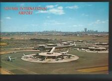 Early 1970s Newark International Airport New Jersey Postcard