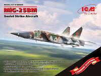 ICM 48905 Mikoyan-Gurevich MiG-25 BM, Soviet Strike Aircraft plastic kit 1/48