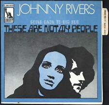 JOHNNY RIVERS - These Are Not My People - 1969 France SP 45 tours