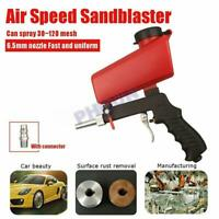 90psi Adjustment Air Pneumatic Sandblasting Gun Handheld Sand Blaster Portable