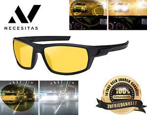 Nachtfahrbrille Nachtsichtbrille Fahrbrille Motorradbrille Blendschutzbrille