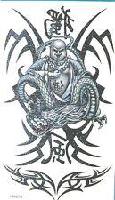King Horse Buddhist Glitter Temporary Tattoos #HM0078