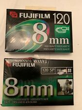 2 Pack Fuji 8mm High Quality P6-120 Camcorder Tapes