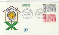 France Europa 1965 CEPT Paris First Day Cover Stamps Cover ref R 18702