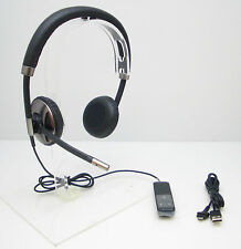 PLANTRONICS BLACKWIRE C720 BINAURAL STEREO USB BLUETOOTH OVER-THE-HEAD HEADSET