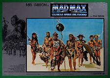 T58 FOTOBUSTA MAD MAX OLTRE LA SFERA DEL TUONO MEL GIBSON MILLER INTERCEPTOR 4