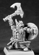 1x DHULREKK THULFISON -WARLORDS REAPER miniature rpg dwarf nain kragmarr 14588