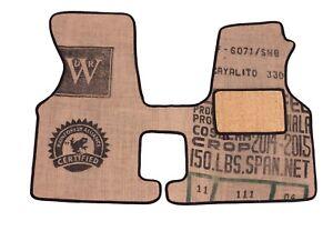 VW Transporter t4 coffee sack Cab mat