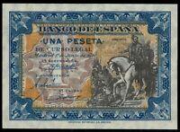Billete de España 1 peseta 1940 B6785958  Madrid 1 de junio