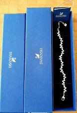 Genuine SWAROVSKI Fidelity Blue Bracelet 1106363 17cm, New in Box
