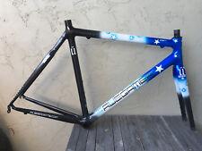Custom Ruegamer Handbuilt Carbon Road Bike Frame Fork, enve 56cm