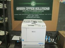 NEW Riso SF9450 Hi Speed Digital Duplicator NETWORKED Low Meter EXCELLENT PRINT