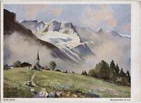 Alte Kunstpostkarte - Hans Saum - Abtenau im Tennengebirge