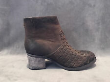 NEW ANTHROPOLOGIE ANTELOPE BROWN PATCHWORK BOOTS SHOES SZ 37