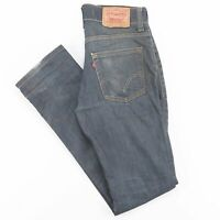 LEVI'S 511 Slim Straight Fit Mens Blue Jeans W31 L34