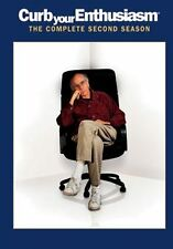 CURB YOUR ENTHUSIASM - SEASON 2 - DVD - REGION 2 UK
