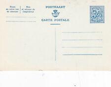 Belgium c1951 Belgian Lion 3f 50c Postcard Unused VGC