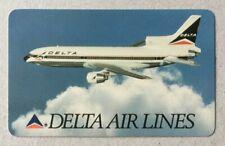 1990 Delta Airlines pocket calendar