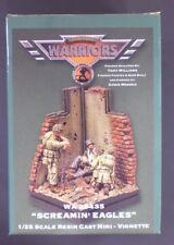 Warriors 1/35th Scale Resin Vignette Screamin Eagles Item No. 35435