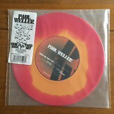 "Paul Weller  - Come On Lets Go   7""  Red & Orange Coloured Vinyl"