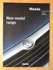 MAZDA Cars 1996 1997 UK Mkt sales brochure - 121 323 626 MX3 MX5 MX6 Xedos 6 9