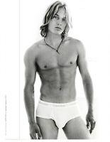 2001 VINTAGE PRINT AD -  CALVIN KLEIN UNDERWEAR AD...SEXY.. AD ONLY