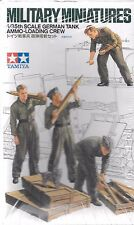 Tamiya WWII German Tank Ammo Loading Crew in 1/35 188 ST DO