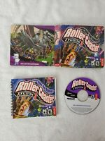 Roller Coaster Tycoon 3 ATARI PC CD-Rom COMPLETE W/ GAME, BOX & INSTRUCTIONS