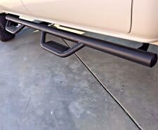 07-18 Fit Toyota Tundra DOUBLE CAB Hoop STEP Steel Nurf Side Bars RUNNING BOARDS