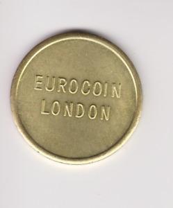 EUROCOIN LONDON TOKEN.27MM.UNCIRCULATED GH93