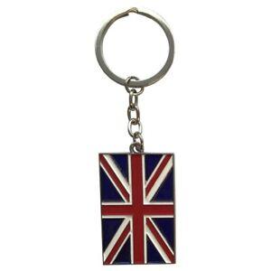 Union Jack Metal Key Ring