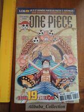 // NEUF ONE PIECE LOG 19 grand format Eiichiro Oda Collection Hachette MANGA VF