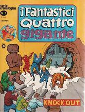 I FANTASTICI QUATTRO GIGANTE N. 7 EDITORIALE CORNO 1978 SERIE CRONOLOGICA MARVEL