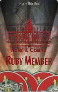 Imperial Palace Casino -  Ruby Member - Slot Card