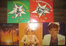 Schallplattensammlung LP - 5 Stück Schlager  - DDR - Amiga