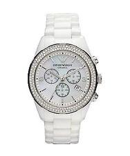 Emporio Armani Ceramica AR1456 Armbanduhr für Damen